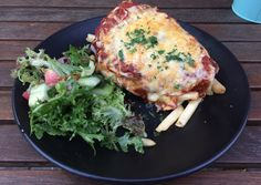 Chicken parma from The Old Cop Shop, Coburg