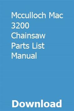 17 Best Chainsaw Parts images in 2019 | Chainsaw parts