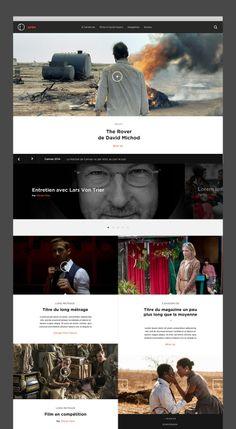 Arte Cinema by Jonathan Da Costa, via Behance