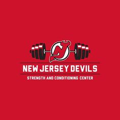 Another version of the Strength and Conditioning logo, designed for the New Jersey Devils.  .  .  .  #njdevils #newjersey #devils #newjerseydevils #nhl #hockey #logo #logos #logodesign #branding #typetopia #typography #icondesign #lifting #fitness #crossfit #design #graphicdesign #sportsart #sportsdesign #illustrator #adobeillustrator #graphicart #freelance #creative #instadesign #instaart #instaartist #advertising