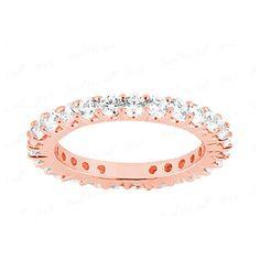Memory Diamantring mit 1.00 Karat Diamanten aus 585er Rosegold für nur 1499.00 Euro bei www.juwelierhausabt.de