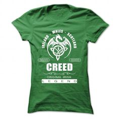 Creed - #hooded sweatshirts #design tshirt. CHEAP PRICE:  => https://www.sunfrog.com/Names/Creed-88525138-Ladies.html?id=60505