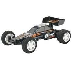 HPI Racing 1/32 Q32 Baja Buggy RTR. At just 4.3 in by 2.9 in, the 1/32 Q32 Baja Buggy is small enough that you can run it just about anywhere. Don't let its small size fool you, though, the Q32 is packed full of cool features!
