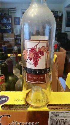 Oliver soft rose wine