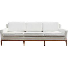 1stdibs - Robsjohn-Gibbings Walnut Sofa explore items from 1,700  global dealers at 1stdibs.com