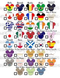 Epcot Food and Wine Festival check mark flags by DigitalWishes Disney Trading Pins, Disney Pins, Disney Stuff, Disney World Trip, Disney Vacations, Disney Annual Pass, Disney Food, Disney Ideas, Disney Planning