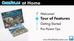 Part 1 of CoreAtlas at Home Parent Video Series. How does CoreAtlas help your child develop critical thinking? Watch this quick introduction and start the learning… Learning Tools, Guide Book, Critical Thinking, Young People, Get Started, Parenting, Journey, How To Get, Tours