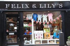 Felix and Lily's Shop in Camden Passage, London.  The best Children's store.