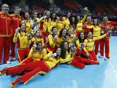 Las Chicas de Bronce del handball