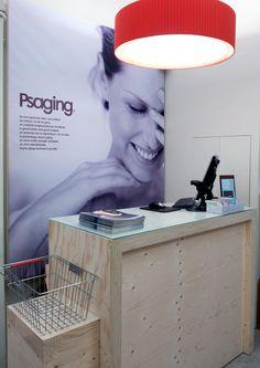Mobiliario a medida para franquicias Psaging