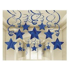 Details of 30 Blue Shooting Stars Whirlwind Decorations Graduations / Birthday Supplies – No Translation - Decoration For Home Star Decorations, Birthday Party Decorations, Christmas Decorations, Birthday Parties, Hanging Decorations, Graduation Party Supplies, Birthday Supplies, Diy And Crafts, Crafts For Kids