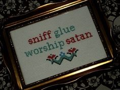 Someday me and my blasphemous friends will be making these in our nursing homes.