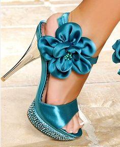 sapato colorido para noivas...
