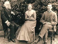 Rupert Potter, Beatrix Potter and Bertram Potter