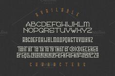 Traveller Typeface Font Free Download