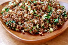 Mexican Quinoa Salad...can adapt to make it candida diet friendly