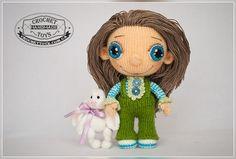 Кукла Леруся - CrochetToys. Игрушки ручной работы