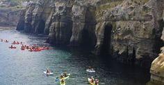 Things to Do in San Diego - kayak in la jolla