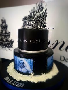 Game Of Thrones cake www.annicas.co.za