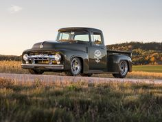 1956 Ford F100 Truck Clem 101 by Ringbrothers: The Epitome of Truck by Ford https://www.designlisticle.com/1956-ford-f100-truck-clem-101-by-ringbrothers-the-epitome-of-truck-by-ford/