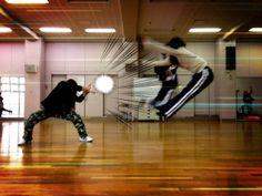 Latest Japanese Schoolgirl Trend: Fake Dragon Ball Attacks