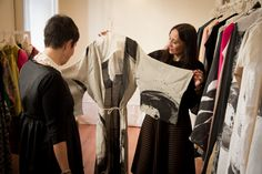 T - Teresa La Fosca Press Day SS2016 #muusa #corner #fashion #collection #ss2016 #madeinitaly #luxury #cashmere #beautiful #design #special #press #guest #reffaellamoretti