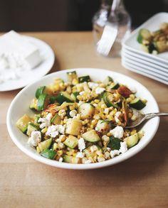 Post image for Summer Sides: Squash Blossom Salad