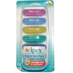 Apex, Pocket Med Pack with 7-Day Tray