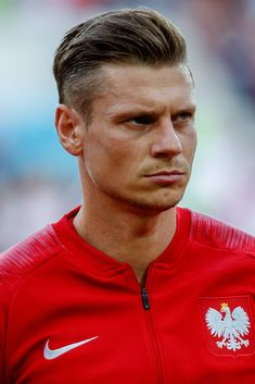 Lukasz Piszczek of Poland looks on prior to the 2018 FIFA World Cup Russia group H match between Poland and Senegal at Spartak Stadium on June 2018 in Moscow, Russia. Consigue fotografías de noticias de alta resolución y gran calidad en Getty Images