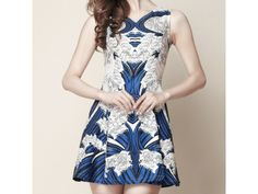 A l'est du bleu #Dress