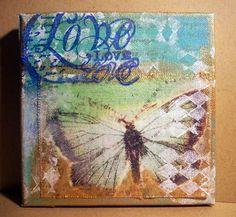 SCC BLOG: Provato per voi: Sticky Back Canvas by Claudine Hellmuth