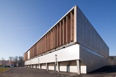 Sports complex in Châtenay-Malabry / aEa – agence Engasser + associés, Recreation, Sport, France