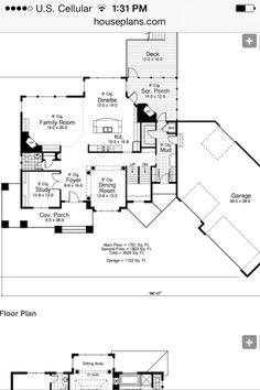 Main floor, of my home