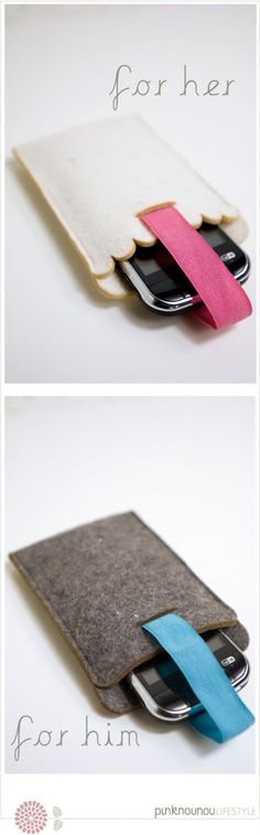 iPhone sleeve  by PinkNounou Lifestyle