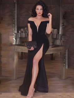 Evening Dress Sexy Evening Dress, Evening Dresses, Formal Dresses, Mode Outfits, Dress Outfits, Gown Skirt, Quinceanera Dresses, Classy Dress, Special Occasion Dresses