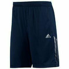 Adidas Men's Response Bermuda Tennis Shorts-Navy/Silver-Small adidas. $24.70