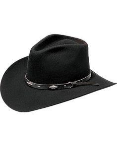 6d35aa2c4d7b9 Master Hatters Men s Diamond Wool Felt Cowboy Hat