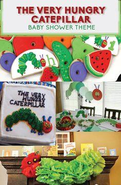 42 Ideas baby shower ides for girls butterflies hungry caterpillar Baby Shower Desserts, Boy Baby Shower Themes, Baby Shower Cupcakes, Baby Shower Favors, Shower Cakes, Baby Shower Parties, Baby Boy Shower, Baby Shower Invitations, Shower Party