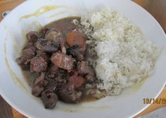 Burgundi bárányragu recept foto Oatmeal, Grains, Rice, Beef, Breakfast, Food, The Oatmeal, Meat, Morning Coffee