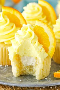 These Orange Cream Cupcakes are made with orange cupcakes and frosting and a light vanilla cream filling! Such a delicious cupcake and fun flavor! Orange is totally one of those flavors that gets overlooked, even by me, yet it's a flavor I love. I made an orange cream cake for my cookbook a couple years …