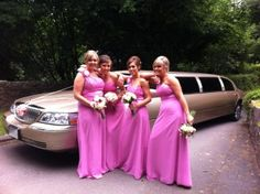 Gold Wedding Limousine Hire Louth