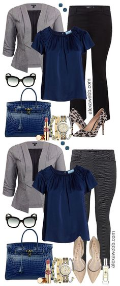 Plus Size Winter Business Casual Outfits Plus Size Skinny Pants Grey Blazer Blue Top Nude Flats Plus Size Fashion for Women Plus Size Work Wear Business Casual Outfits For Women, Casual Winter Outfits, Business Outfits, Trendy Outfits, Winter Business Casual, Dress Casual, Business Fashion, Business Shirts, Business Casual For Women