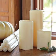 Beeswax Candles                                                     No smoking carcinogens when lit.