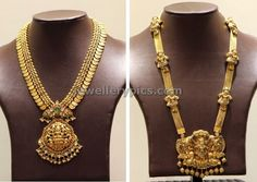 PC jewellers Temple haram designs - Latest Jewellery Designs