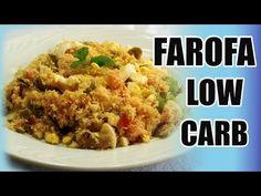 FAROFA LOW CARB PgarofaARA CEIA DE NATAL - FAROFA PROTEICA - FÁCIL DE FAZER - YouTube
