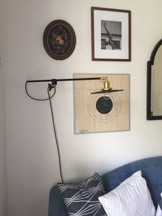 Jasper Lamp Bent swing arm potence pharmacy by TripleSevenHome