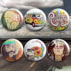 Pinback Buttons Badges Pins Gautama Buddha English Sentence Lapel Pin Brooch Clip Trendy Accessory Jacket T-Shirt Bag Hat Shoe