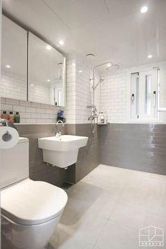 Steel Furniture, Home Furniture, Bathroom Interior, Interior Design Living Room, Office Interiors, Tile Design, Dressing Room, Corner Bathtub, House Colors