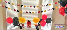 Mickey Mouse Garland 12 ft Mickey Mouse by BrandalynsPaperie