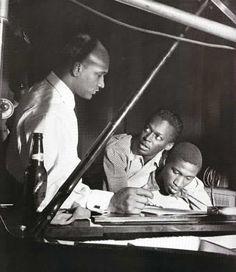 Miles Davis recording at Blue Note